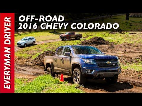 Off-Road Drive: 2016 Chevrolet Colorado On Everyman Driver