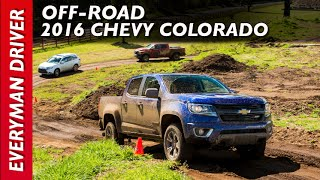 off road 2016 chevy colorado 4wd z71 on everyman driver