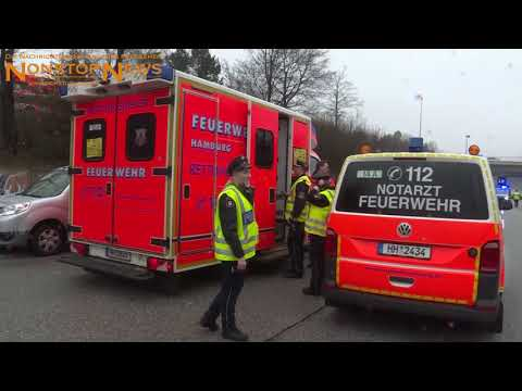 Elbtunnel nach Lkw-Brand gesperrt | NonstopNews