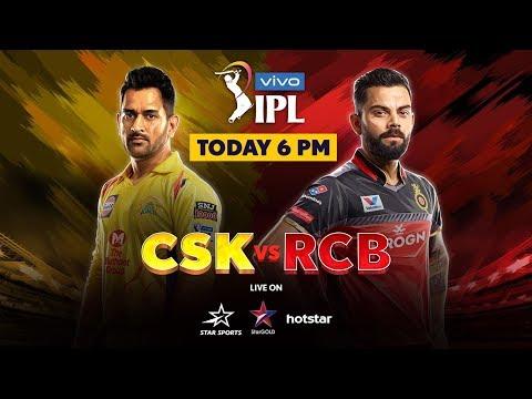 VIVO IPL 2019: The Dhoni-Kohli showdown! IPL CSK VS RCB