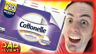 BEST TOILET PAPER IN THE WORLD? | Cottonelle Toilet Paper Review