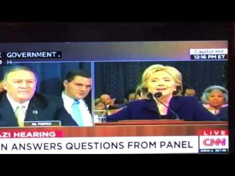 Mike Pompeo R Kansas Tells More Lies At #BenghaziCommittee - Zennie62