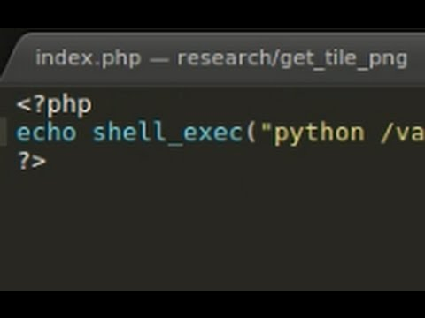 PHP Tutorial : Passing PHP Variable To Pyton (file.py)