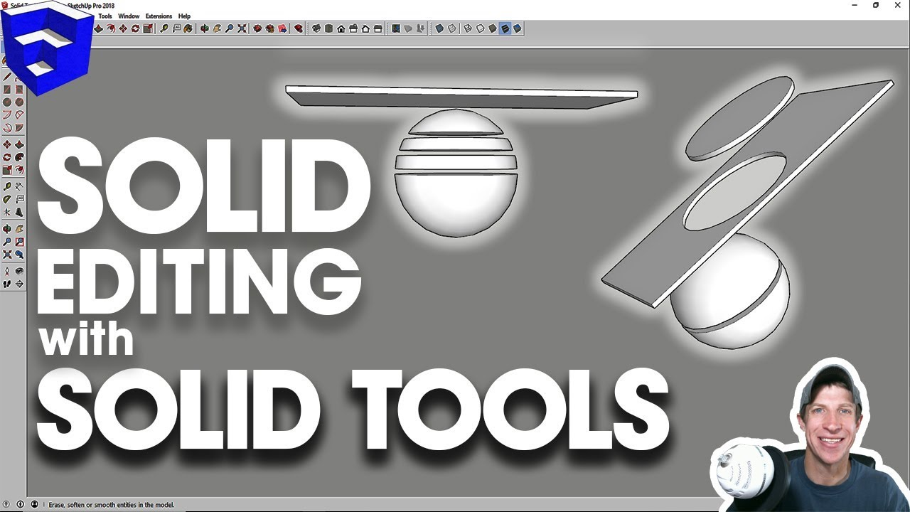 EDIT SOLID MODELS with Solid Tools for SketchUp - The