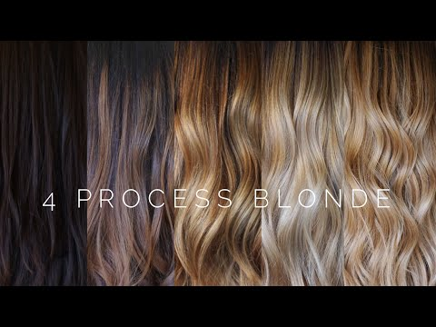 4 Process Blonde || Hair Tutorial