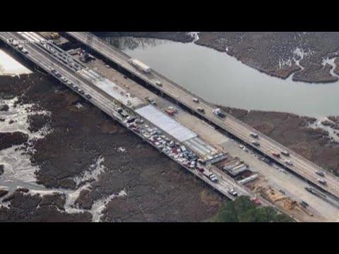 DJ DC - 69-vehicle pileup crash on Interstate 64 in York County!