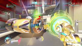 Black Guy Doesn't Like Widowmaker And Be Toxic To The Whole Team In Overwatch