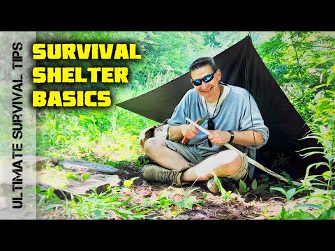 Ultimate Survival Pocket Shelter: Military Poncho - Plow Point Tent