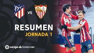 Resumen de Atlético de Madrid vs Sevilla FC (2-0)