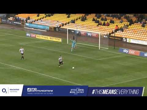 Match Highlights Port Vale v Macclesfield Town