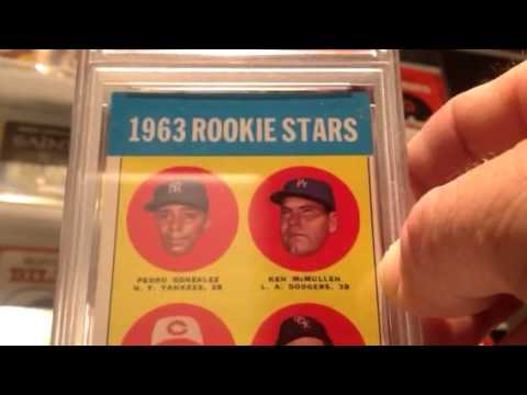 Pete Rose Rookie Psa Mail Day First Big Card Graded And Sto