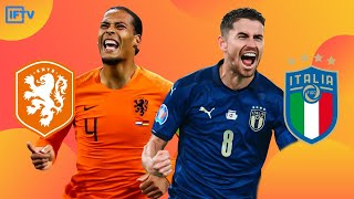 ITALY 1 1 NETHERLANDS HIGHLIGHTS UEFA Nations League Reactions