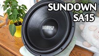Sundown Audio SA15. Легенда в 2019 році! Огляд. Розпакування.