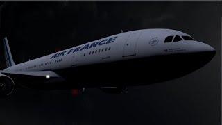 Les dernières minutes du vol Rio-Paris