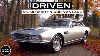 Aston Martin DBS Vantage 1969 - Full test drive in top gear - Engine sound | SCC TV