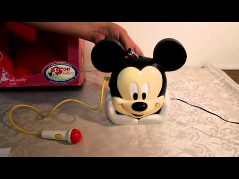Disney Talking Mickey Mouse Tape Player For Kids