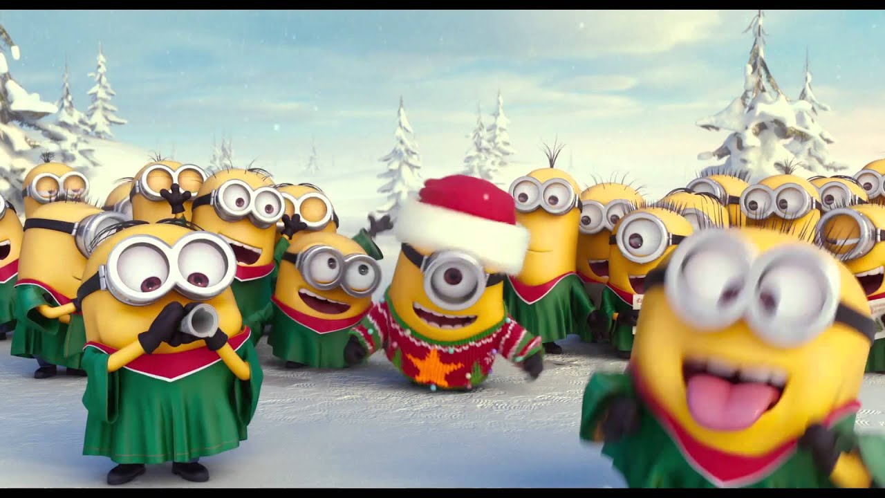 Image of: Chinese Minions Merry Xmas Happy New Year Youtube Minions Merry Xmas Happy New Year Youtube
