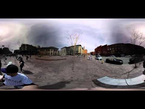 GoPro: 360 Walk from Union Station to Coors Field Opening Day Denver, Colorado
