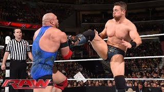 Ryback vs. The Miz: Raw, June 29, 2015