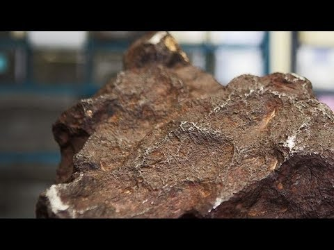 Michigan man's doorstop is a meteorite worth a fortune