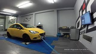 Opel Corsa 1.4 turbo 100cv Reprogrammation Moteur @ 169cv Digiservices Paris 77 Dyno