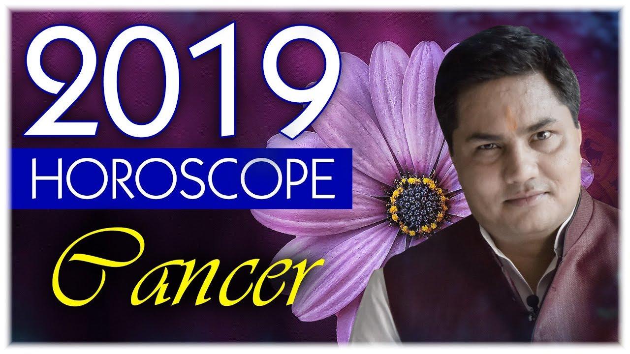 Cancer Yearly Horoscope -2019 | Rashifal |Forecast|Zodiac Sign Prediction  in English Suresh Shrimali