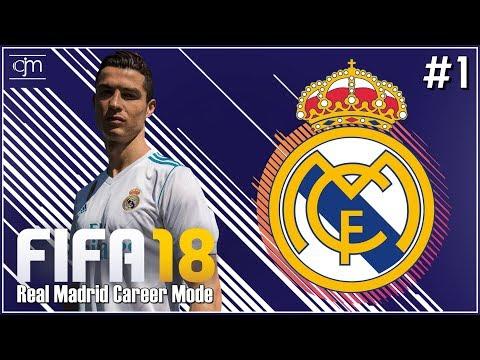 FIFA 18 Real Madrid Career Mode: Zidane Digantikan Manajer Asal Indonesia #1 (Bahasa Indonesia)