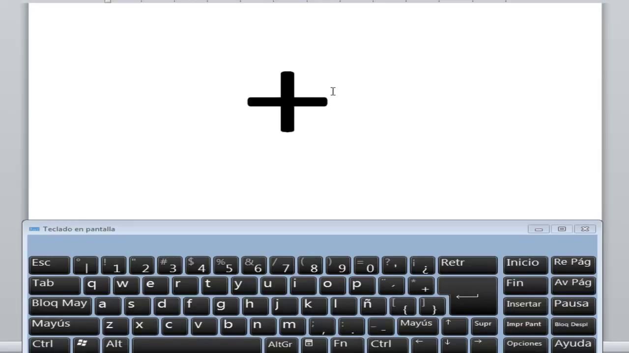 Como hacer el signo de mas en mi teclado youtube for De donde se saca el marmol