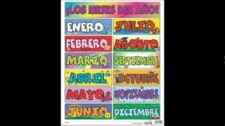 Los Meses del Año. CD Leche Klim
