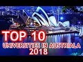 top 10 universities in australia|Australian universities|best universities in Australia|2018