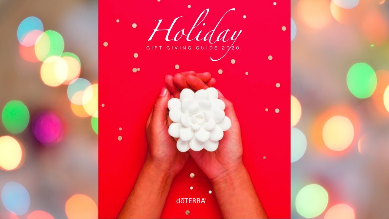 2020 Doterra Christmas Gift Guide doTERRA Holiday Guide 2020 Reveal   YouTube