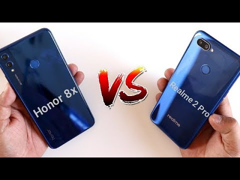 Honor 8x Vs Realme 2 Pro SpeedTest Comparison  I Hindi Mp3