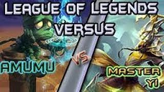 Amumu Vs Master Yi THE ULTIMATE 1v1