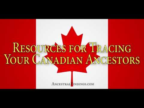 Resources For Tracing Your Canadian Ancestors Online | Ancestral Findings Podcast | AF-091