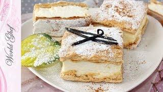 Постный низкокалорийный Наполеон | Веганский рецепт