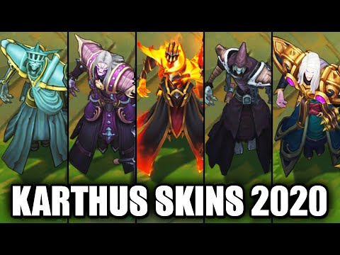 All Karthus Skins Spotlight 2020 (League of Legends)