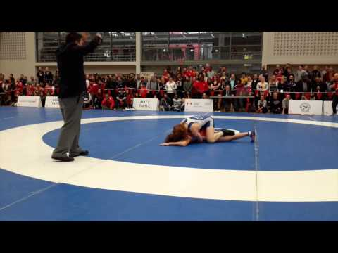 2015 Senior National Championships: 53 kg Vanessa Brown vs. Samantha Stewart