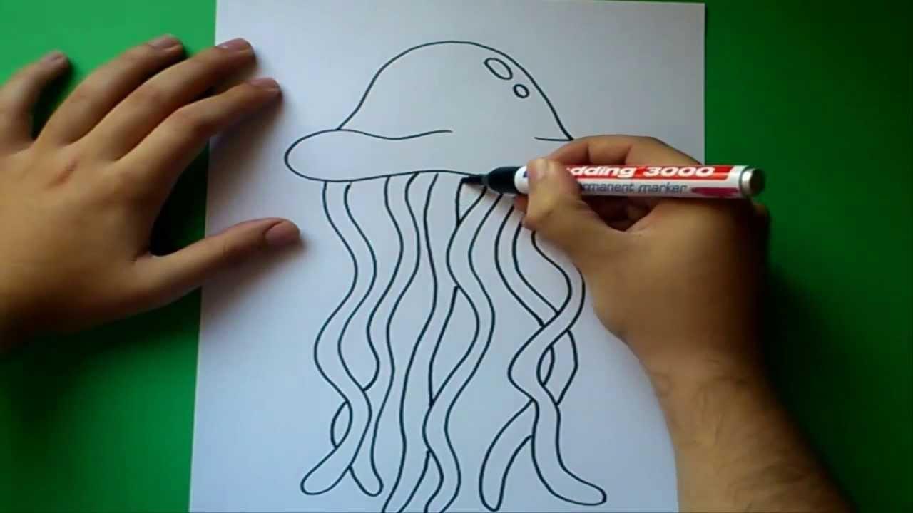 Como dibujar una medusa paso a paso | How to draw a medusa - YouTube