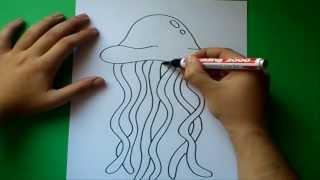 Como dibujar una medusa paso a paso | How to draw a medusa