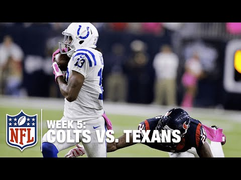 T.Y. Hilton Ices the Game with a Big 43-Yard Reception from Matt Hasselbeck | Colts vs. Texans | NFL