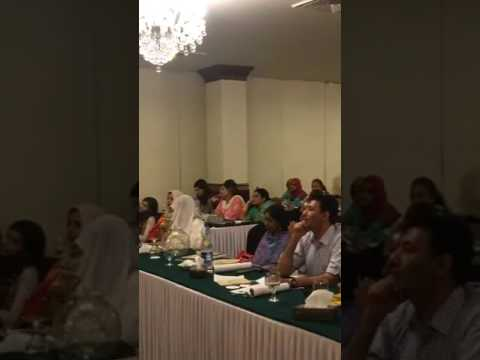 Money Mind workshop part 1. Karachi. Pakistan 2017