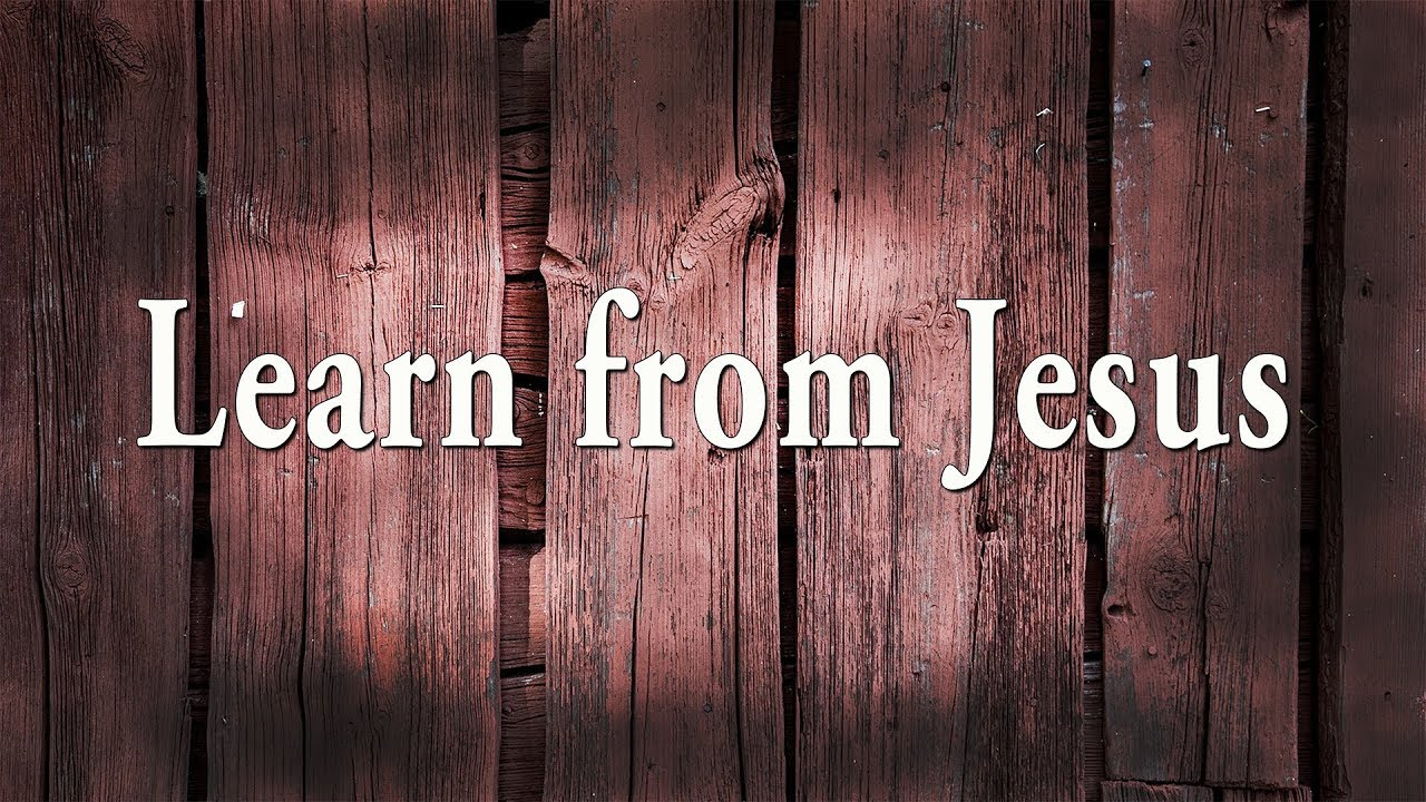 Learn from Jesus | Disciple pt. 2 - YouTube