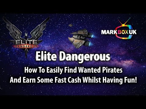 Elite Dangerous - How to find wanted Pirates & make easy money