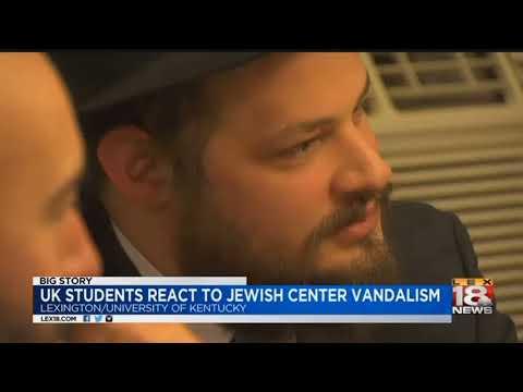 UK Students React To Jewish Center Vandalism
