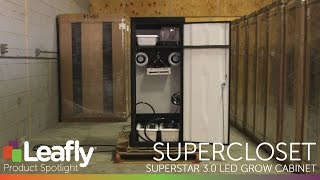 SuperStar 3.0 LED Grow Cabinet by SuperCloset