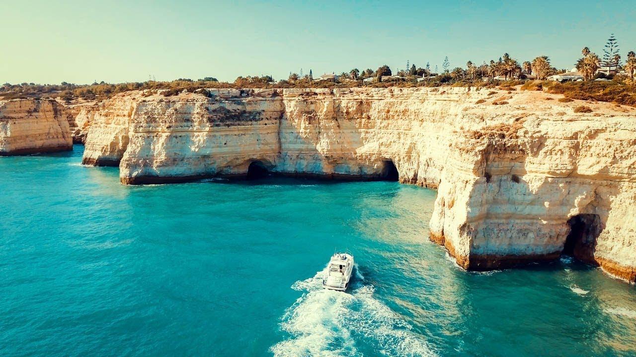 Best Dji Drone >> Les Falaises d'Algarve (Portugal) - Best of Drone #3 - YouTube
