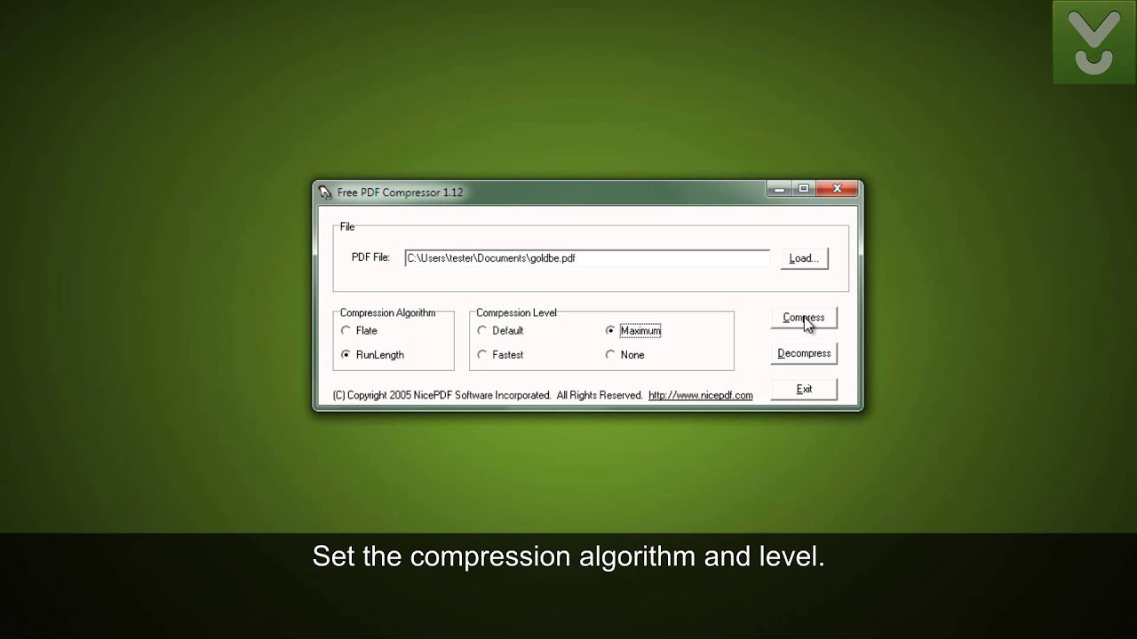 How to compress pdf file or reduce file size   pdfmate.