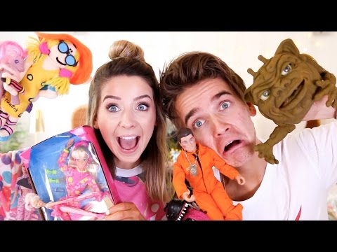 Thumbnail: Reacting To Our 90's Childhood Toys | Zoella