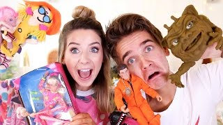 Reacting To Our 90's Childhood Toys | Zoella