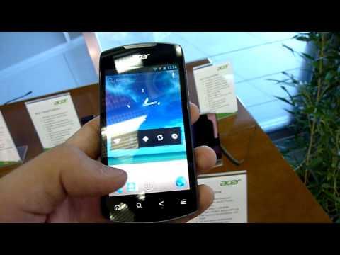 Acer Liquid Mobile im Hands On